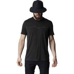 Houdini Big Up Message Tee Men true black/heartbeat